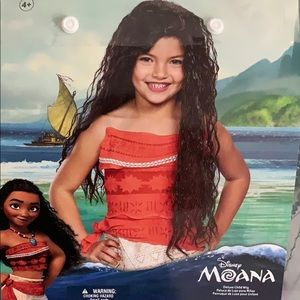 Disney Moana wig